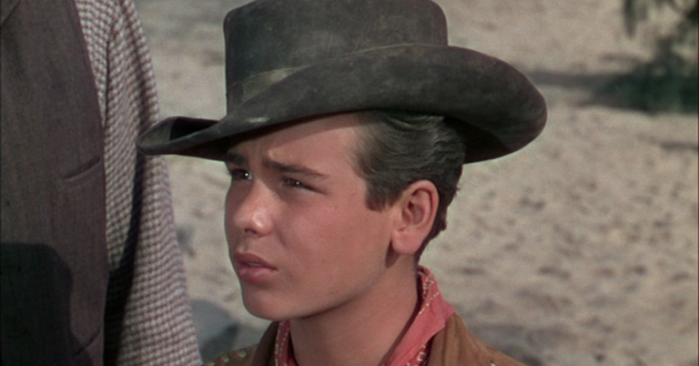 A young Dean Stockwell in Cattle Drive