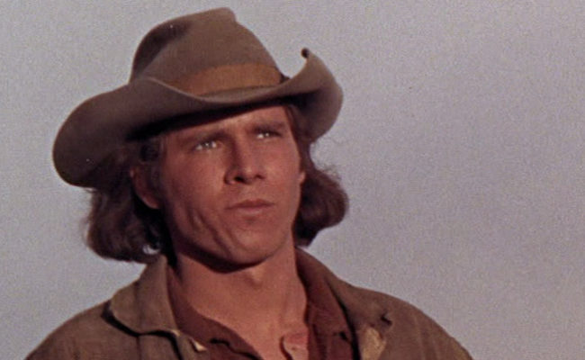 A young Harrison Ford in Journey to Shiloh