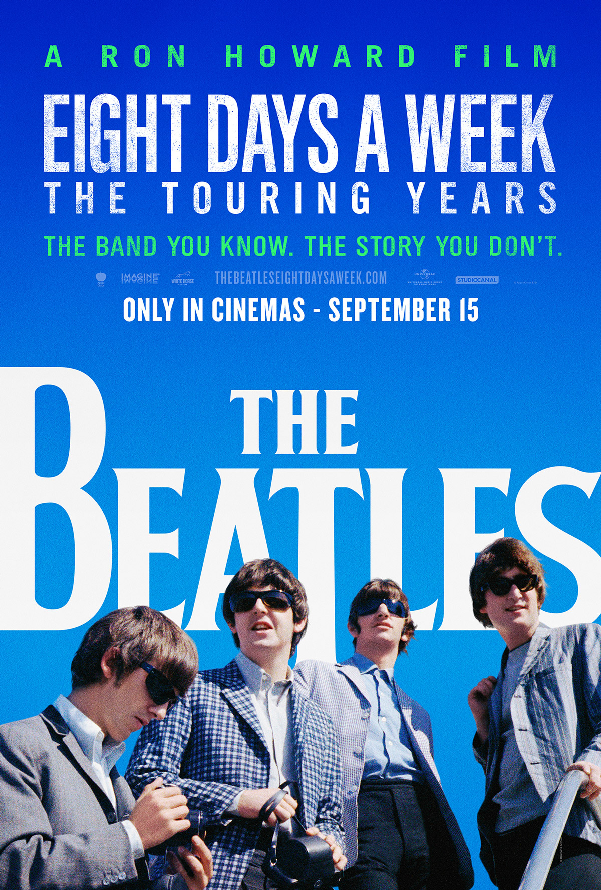 Ron Howard Beatles: Eight Days A Week poster